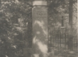 V-Maarja vana surnuaed: J. Tamme hauamonument 1948 - KM EKLA