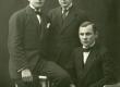 Jaan Taklaja, Alfred Koort ja Albert Kivikas 4. dets. 1921. a. Tartus - KM EKLA