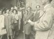 August Alle mälestustahvli avamisel Narva mnt 86  31. VIII 1960 - KM EKLA