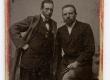 Gustav Cederlund ja Ants Laikmaa 1898. a.  - KM EKLA