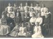 Ernst Enno Haapsalu Saksa algkooli õpetajatega ja õpilastega 1921. a. - KM EKLA