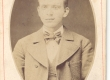 J. Bergmann (1856-1916), (pastor) üliõpilasena - KM EKLA