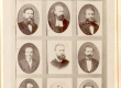 Fr. R. Kreutzwald, C. R. Jakobson, J. W. Jannsen, J. W. Weske, J. Hurt, M. J. Eisen, K. A. Hermann, J. Kõrv, A. Grenzstein, J. Kunder, -?-, A. Saal - KM EKLA