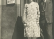 Dagmar Hacker tundmatuga 1932. a. - KM EKLA