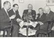Oskar, Kuusma, Imant Rebane, August Mälk, Johannes Aavik, Artur Adson. Märts, 1963 - KM EKLA