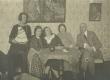 Paremalt: Artur Adson, Hedda Hacker, Marie Under, Dagmar Hacker, [Marie Underi õde] - KM EKLA