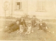 Oskar ja Hillar Kallas, V. Ernits, Põld jt. 1918 - KM EKLA