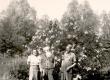 Juta Särgava, Ernst Peterson-Särgava ja Paul Särgava 1952. a. juulis - KM EKLA