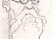 E. Peterson-Särgava Gori karikatuur 1938. a. Orig.: Esmaspäev 1938, nr. 17 (25. IV), l. 7. - KM EKLA