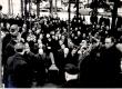 Ernst Peterson-Särgava matus 16. IV 1958 - Metsakalmistule jõudmine - KM EKLA