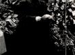 Ernst Peterson-Särgava matus 16. IV 1958 - Kirj. Liidu esimehe asetäitja P. Rummo hüvastijätt haua juures Metsakalmistul - KM EKLA
