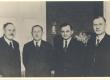 B. Linde, A. H. Tammsaare, Juhan Parts ja Karl Anton - KM EKLA