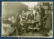 Vasakult: 1. Osvald Saadre, 2. Virve Huik, 3. Friedebert Tuglas, 4. Elo Tuglas, 5. Aleksander Tassa, 6. Elsbet Markus, 7. Oskar Loorits mai, 1927 - KM EKLA