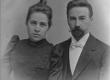 August Kitzberg abikaasaga - KM EKLA