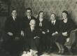 Vasakult: J. Taklaja, Fr. Tuglas, M. Under, E. Hubel, H. Hacker, ees A. Adson [1933] - KM EKLA
