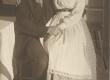 """A. Kitzbergi """"Püve talus"""" """"Estonias"""" 1926. Ants Lauter (Jaan) ja Salme Peetson (Tiina) - KM EKLA"""