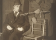 "A. Kitzbergi ""Püve talus"" ""Estonias"" 1926. T. Tondu (Ernst)ja E. Kurnim (Viraku-Märt) - KM EKLA"