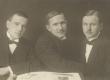 A. Adson, Ed. Ahman, Otto Tief Tallinnas 1912. a. - KM EKLA