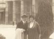 Artur Adson ja Marie Under Berliinis 1921 - KM EKLA