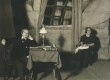 """A. Adsoni """"Läheb mööda"""" Eesti Draamateatris 1923. R. Klein ja L. Reimann - KM EKLA"""