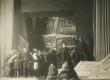 """A. Adsoni """"Läheb mööda"""" Eesti Draamateatris 1923. Stseen lavastusest - KM EKLA"""