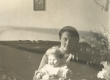 Silvia Kitzberg tütrega - KM EKLA