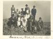 Johanna Kitzberg (keskel) jt Saaremaal Sõrves 21. juulil 1929 - KM EKLA