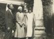 Jaan, Silvia ja Johanna Kitzberg Kuressaares 13.07.1931 - KM EKLA