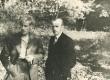 Jaan Kärner (paremal) oma venna Aleksandriga Kängsepal A. Kärneri 50. sünnipäeval 1936. a - KM EKLA