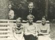 Jaan Kärner lastega u. 1936.-1937. a - KM EKLA