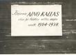 Mälestustahvel majal, kus Aino Kallas elas ja töötas suviti 1924-1938 - KM EKLA