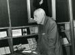 Valmar Adams esinemas XXV Kreutzwaldi päevadel 26/27. dets. 1981. a. Kirjandusmuuseumis - KM EKLA