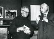 Villem Ernits ja Valmar Adams XX Kreutzwaldi päeval 1976. a. Kirjandusmuuseumis - KM EKLA