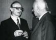 J. Tuldava ja V. Adams XX Kreutzwaldi päeval 1976. a. Kirjandusmuuseumis - KM EKLA