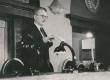 Fr. Tuglas avab ENSV Kirjanike Liidu IV kongressi - KM EKLA