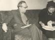Vasakult: Mart Raud ja Helene Siimisker 27. nov. 1959. a. Tallinnas - KM EKLA