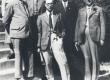 Fr. Tuglas, E. Ole, R. Räägo, R. Kleis jt. Turu ülikooli ees 1935 - KM EKLA