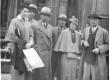 Haapamäel: par: Fr. Tuglas, ?, R. Räägo, J. Semper, R. Kleis, A. Semper 7. juuli 1935? - KM EKLA