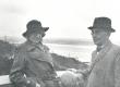 S. Oinas-Kurvits ja F. Tuglas Soomes, Punkaharju, juuni 1938 - KM EKLA