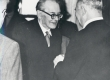 Friedebert Tuglas Hans Kruusi 70. a. juubeliaktusel 1961 - KM EKLA