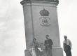 E. Tuglas, E. Eesorg, F. Tuglas, P. Kurvits Narvas, juuli 1937 - KM EKLA