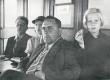 F. Tuglas, E. Tuglas, R. Kleis, E. Eesorg Naroova jõelaeval, suvi 1937 - KM EKLA