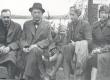 P. Kurvits, F. Tuglas, E. Eesorg, E. Tuglas, S. Oinas-Kurvits Kangasalal, juuli 1938 - KM EKLA