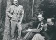 R. Kleis, F. Tuglas, Treumann. Kangasala, Soome, juuli 1938 - KM EKLA