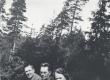 R. Kleis, F. Tuglas, E. Tuglas, Kirkkoharju, Soome, juuli 1938 - KM EKLA