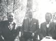 V. Treumann, R. Kleis, F. Tuglas Vehkaniemen harju, Soome, juuli 1938 - KM EKLA