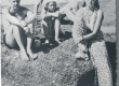 P. Kurvits, E. Eesorg, F. Tuglas, S. Oinas-Kurvits Vääna-Jõesuus, aug. 1938 - KM EKLA