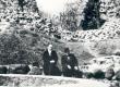 F. Tuglas, V. Treumann. Ring ümber Võrtsjärve, Viljandi lossivaremeil. 30. IV 1939 - KM EKLA