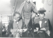 "F. Tuglas, E. Tuglas, V. Treumann teel Stockholmi ""Vironia"" pardal 21. VI 1939 - KM EKLA"
