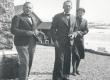 V. Treumann, F. Tuglas, E. Tuglas Norra-reisil, juuli 1939 - KM EKLA